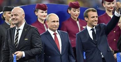 """Tổng thống Putin """"khoe"""" thành quả chặn tấn công mạng dịp World Cup"""