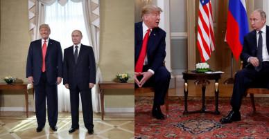 Tổng thống Trump – Putin bắt tay thân mật tại hội nghị thượng đỉnh đầu tiên