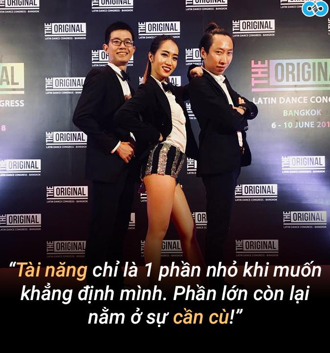 nhảy salsa, Sandy Phan, clip hot, Sài Gòn