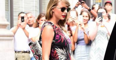 Thâm như Taylor Swift: Đeo ba lô da rắn ra phố đúng ngày kỷ niệm 2 năm bị Kim Kardashian gọi là rắn
