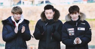Xịt máu mũi khi xem Park Seo Joon cùng dàn mỹ nam vừa nhảy dây vừa... cởi áo khoe body
