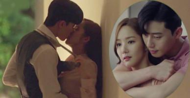 Nụ hôn trong Thư ký Kim khiến fan bấn loạn