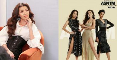 Minh Tú khoe ảnh quay trở lại Asian Next Top Model cực chất