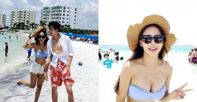 Cặp 'nàng 46, chàng 29′ tận hưởng trăng mật ngọt ngào