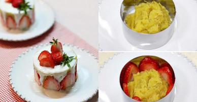 Làm bánh kem cực ngon cực đẹp từ nguyên liệu rẻ tiền và quen thuộc không thể ngờ tới!