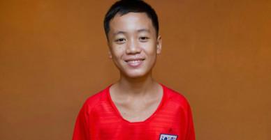 Cầu thủ nhí Thái Lan mơ sang Anh gặp thần tượng Harry Kane