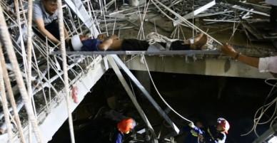 Rơi xuống tầng hầm công trình đang thi công, nam thanh niên nguy kịch