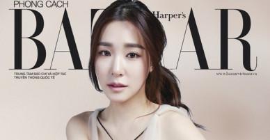 Tiffany (SNSD) chính thức lộ diện trên tạp chí Việt: Đẹp mê hồn, còn được gọi là siêu sao quốc tế