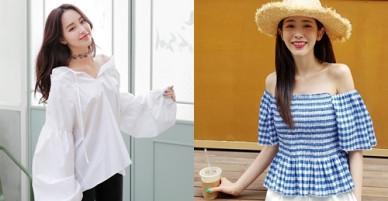5 kiểu áo thống trị hè 2018