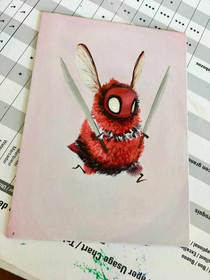 ong, nhân vật, hoạt hình, phim ảnh, truyện tranh,tin8