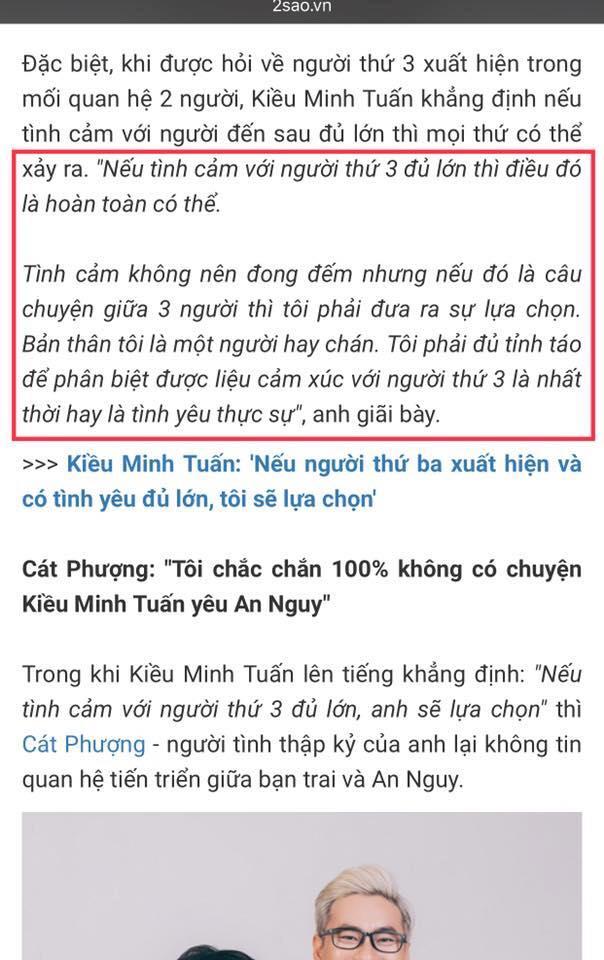 Kiều Minh Tuấn, Cát Phượng, An Nguy, Chú ơi đừng lấy mẹ con