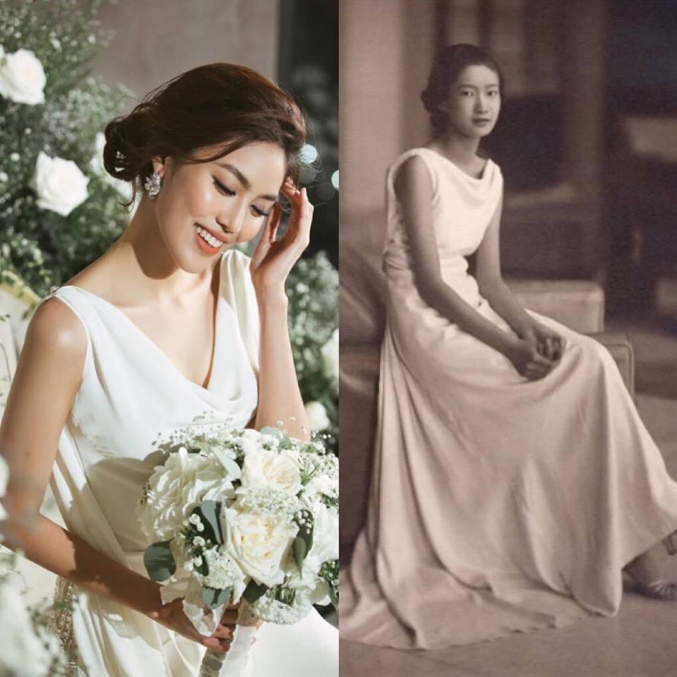Lan Khuê, đám cưới, John Tuấn Nguyễn, váy cưới, thiết kế, Hacchic