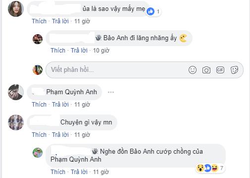 Bảo Anh, Quang Huy, Phạm Quỳnh Anh, Bùi Tiến Dũng, scandal, tay ba, yêu, tin8