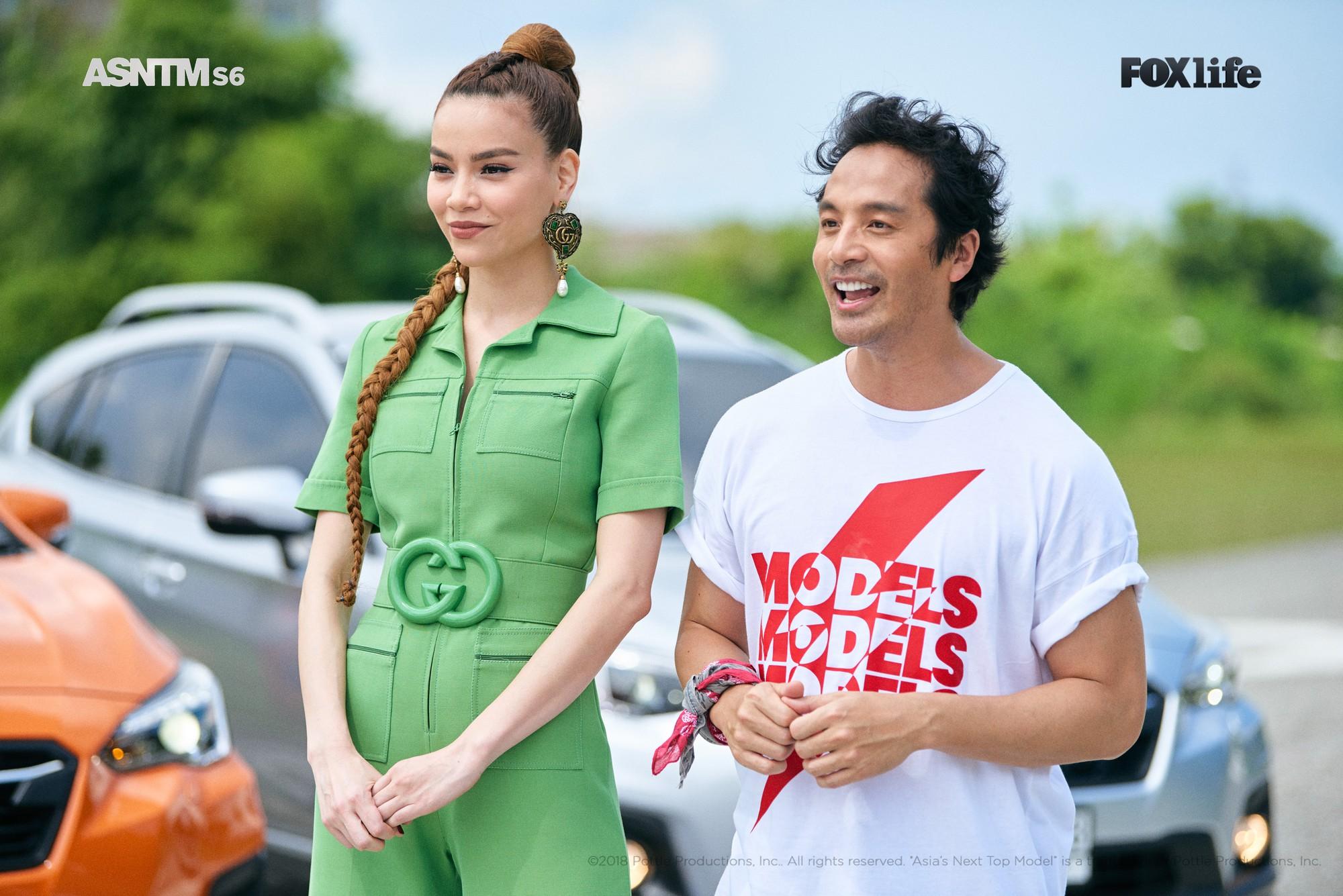 Hồ Ngọc Hà, Asia's Next Top Model, Minh Tú, giám khảo, tiếng anh, tin8