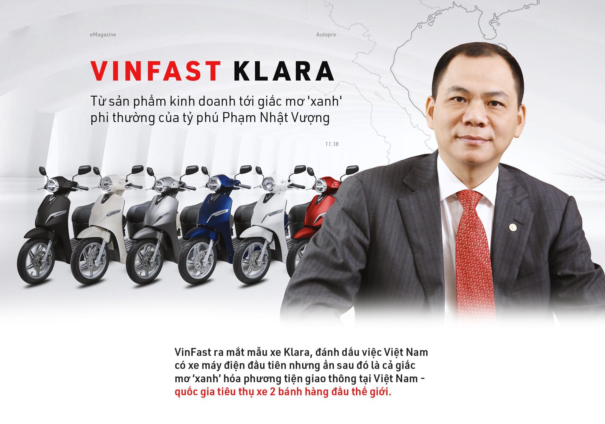 VinFast, Vingroup, tin8, hãng xe, Klara, Phạm Nhật Vượng, ước mơ xanh