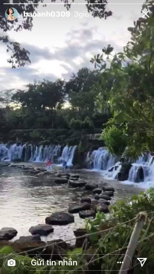Hồ Quang Hiếu, Bảo Anh, tái hợp, du lịch, suối mơ, Đồng Nai, tin8