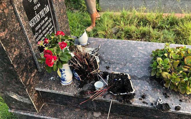 đập mộ, xã hôi đen, người dân, đập phá, công ty thuê xã hội đen đập mộ, nghĩa trang, tin8