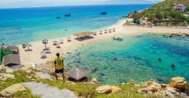 Bãi tắm đôi một nóng - một lạnh duy nhất ở Việt Nam