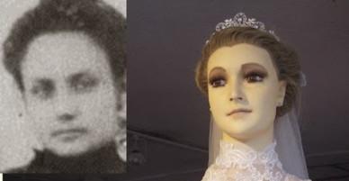 Bí ẩn ma-nơ-canh mặc váy cưới suốt 8 thập kỷ bị nghi xác ướp