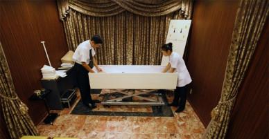 Sởn da gà với khách sạn dành riêng cho người chết ở Nhật Bản