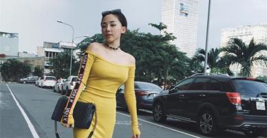 Mỹ nhân Việt đua nhau diện mốt vai trần quyến rũ
