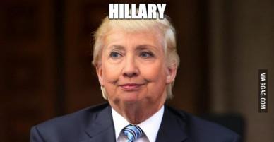 Chùm ảnh chế hài hước về cuộc bầu cử Tổng thống Mỹ có thể khiến bạn... té ghế!