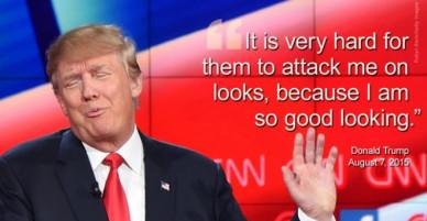 Những biểu hiện và câu nói gây phản cảm của Donald Trump