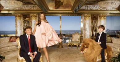 Choáng ngợp trước tủ đồ hàng hiệu của tân Đệ nhất phu nhân Hoa Kỳ Melaina Trump