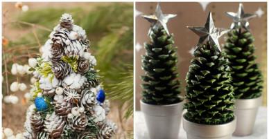 """15 ý tưởng làm cây thông Noel """"không đụng hàng"""" từ tất cả mọi thứ trong nhà"""
