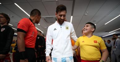 Muôn vạn cảm xúc của Lionel Messi trong trận đấu với Croatia.