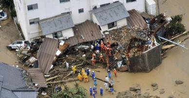 Lũ lớn tại Nhật: đã hơn 176 người chết, mọi thứ tan hoang hơn những gì chúng ta nghĩ