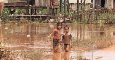 Những hình ảnh kinh hoàng ở Lào trong lúc này
