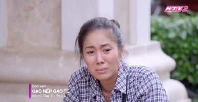 Gạo nếp gạo tẻ: Lê Phương bị chồng hất hủi đến tội nghiệp ngay trước mặt tình địch.