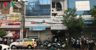 NÓNG: Cướp ngân hàng táo tợn tại Tân Phú