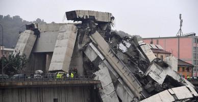 Sập cầu ở Ý: 35 người chết và nhiều người bị thương