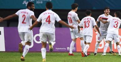 Vì sao cầu thủ Syria không mặc áo mang tên riêng mà chỉ có tên chung của đội tuyển?