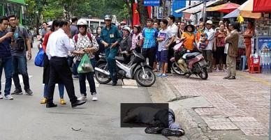 [Nóng]: 1 khách Tây vừa nhảy lầu tự tử tại quận 1