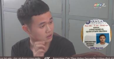 Tú ông điều hành đường dây hoa hậu bán dâm nghìn đô vừa bị triệt phá đang là sinh viên Đại học Văn Lang