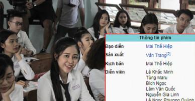 Khẳng định mình không bán dâm nhưng Cao Vy vẫn bị đoàn làm phim Thạch Thảo gạt tên, HTV gỡ bỏ hình ảnh