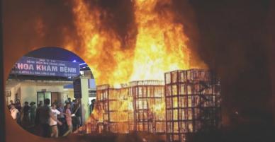 Cháy lớn khủng khiếp gần bệnh viện Nhi: Bác sĩ và đội cứu hộ di chuyển hàng trăm sản phụ và em bé như thế nào?