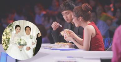 Dự đám cưới Trường Giang, Bảo Anh và Hồ Quang Hiếu tình tứ đút bánh cho nhau ăn lộ tin tái hợp trong bí mật?