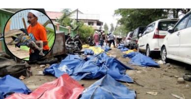 Thảm họa lịch sử ở Indonesia: Đưa hàng trăm nghìn bao tải đến hiện trường bỏ xác nạn nhân vào đi chôn tập thể