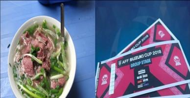 Giá vé xem đội Việt Nam đã ở AFF Cup 2018 không bằng giá 1 tô phở bình dân ở Lào