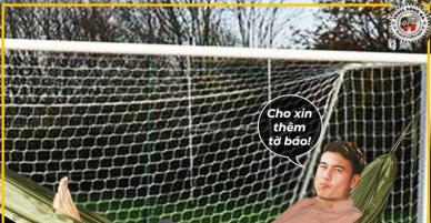 Loạt ảnh chế hài hước sau trận ra quân thắng tưng bừng của đội tuyển Việt Nam trước Lào