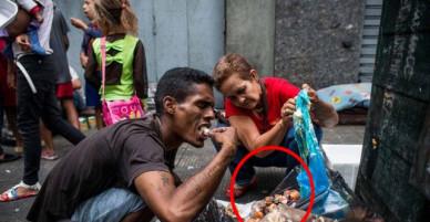 Tận cùng khủng hoảng kinh tế: Thịt bị thối rữa đang là món ăn chính trong bữa ăn hàng ngày của người dân Venezuela
