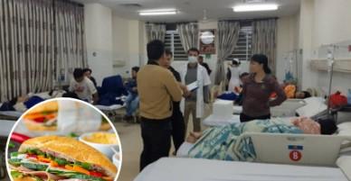 73 người nhập viện nằm la liệt vì ăn bánh mì ở quán vỉa hè nổi tiếng lâu năm