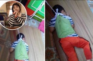 Thông tin chính thức về vụ cậu bé 4 tuổi bị buộc dây treo lên cửa sổ: chính cô giáo mầm non của bé là hung thủ gây ra sự việc trên